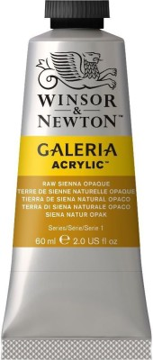 Winsor & Newton Galeria Acrylic Colour - Tube of 60 ML - Raw Sienna Opaque (553)(Set of 1, Raw Sienna Opaque)