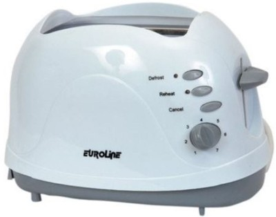 Euroline EL 810 750 W Pop Up Toaster(White) at flipkart