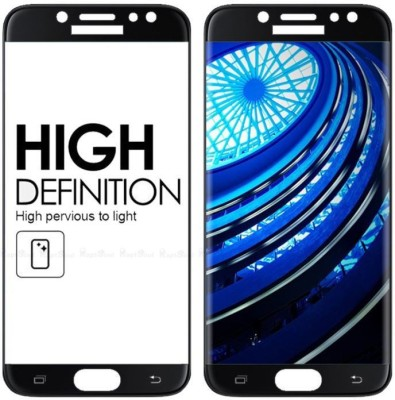 HIE POWER Edge To Edge Tempered Glass for Samsung Galaxy J7 Prime 2 (5D Tempered glass)(full glue)(Pack of 1)