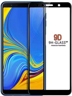 TegA GeaR Edge To Edge Tempered Glass for Samsung Galaxy A7 2018(Pack of 1)