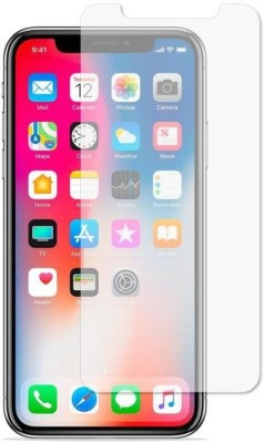 SAMARA Tempered Glass Guard for Apple iPhone X(Pack of 1)