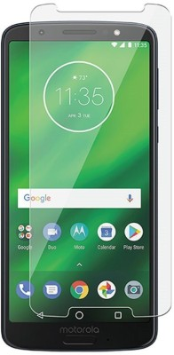 SAMARA Tempered Glass Guard for MOTOROLA MOTO G6 PLUS(Pack of 1)