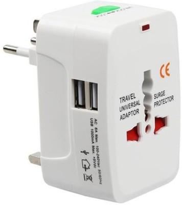 Mopslik Universal Worldwide Travel Adapter with Dual USB Ports … Worldwide Adaptor White Mopslik Laptop Accessories