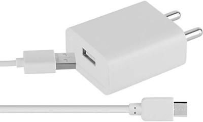AHMAD ENTERPRISE J7PRO 2.4 A Mobile Charger with Detachable Cable White AHMAD ENTERPRISE Wall Chargers