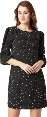 Miss Chase Women Shift Multicolor Dress