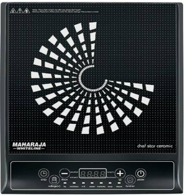Maharaja Whiteline Chef Star Ceramic (IC-108) Induction Cooktop(Black, Touch Panel) at flipkart
