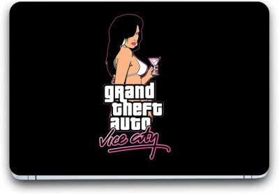 Gallery 83 ® grand theft auto vice city game Exclusive High Quality Laptop Decal, laptop skin sticker 15.6 inch (15 x 10) Inch G83_skin_3127new Vinyl Laptop Decal 15.6