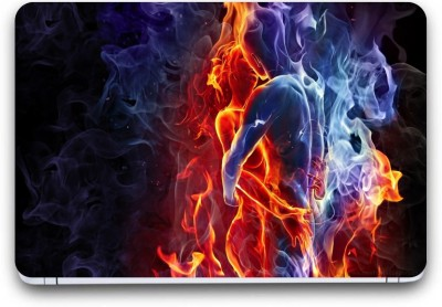 Gallery 83 ® fire d romantic couple Exclusive High Quality Laptop Decal, laptop skin sticker 15.6 inch (15 x 10) Inch G83_skin_4104new Vinyl Laptop Decal 15.6