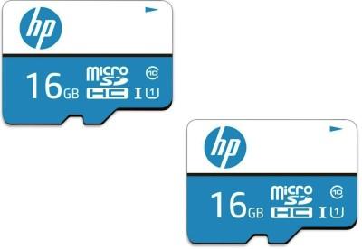 HP MICRO 16 GB MicroSDHC Class 10 80 MB/s  Memory Card