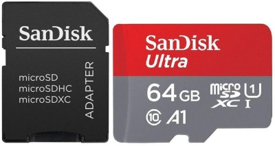 SanDisk A1 64 GB Ultra SDHC Class 10 100 MB/s  Memory Card  available at flipkart for Rs.1499