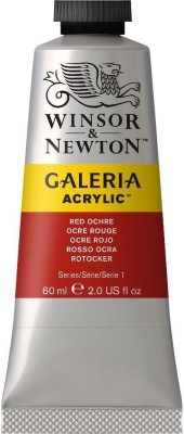 Winsor & Newton Galeria Acrylic Colour - Tube of 60 ML - Red Ochre (564)(Set of 1, Red Ochre)