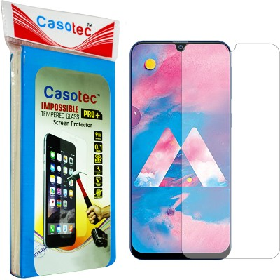 Casotec Impossible Screen Guard for Samsung Galaxy A30, Samsung Galaxy A50, Samsung Galaxy M30, Samsung Galaxy M20(Pack of 1)