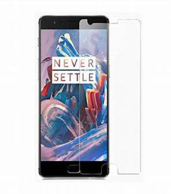 MOBIHUB Tempered Glass Guard for OnePlus 3T(Pack of 1)