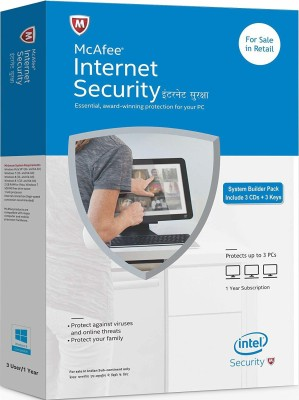 McAfee Internet Security 3 User 3 Years(CD/DVD)