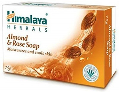 Himalaya Since 1930 Almond & Rose Moisturizes and Cools Skin Soap 75g(75 g) at flipkart