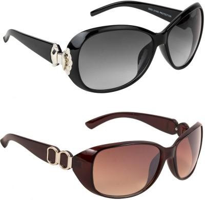 Irayz Over-sized Sunglasses(Black)
