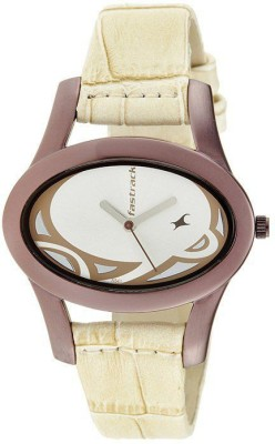 Fastrack NG9732QL01 Analog Watch   For Women Fastrack Wrist Watches