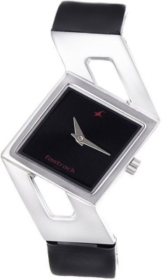 Fastrack NG6035SL02 Basics Analog Watch   For Women Fastrack Wrist Watches