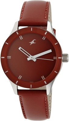 Fastrack NG6078SL06 6078SL06 Analog Watch   For Women Fastrack Wrist Watches