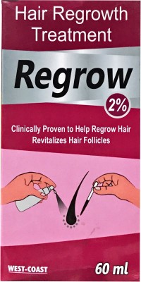 west cost regorw minoxidil topical 2%(60 ml)