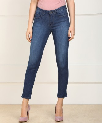 Lee Skinny Women Blue Jeans at flipkart