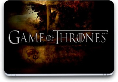 Gallery 83 ® game of thrones Exclusive High Quality Laptop Decal, laptop skin sticker 15.6 inch (15 x 10) Inch G83_skin_3496new Vinyl Laptop Decal 15.6