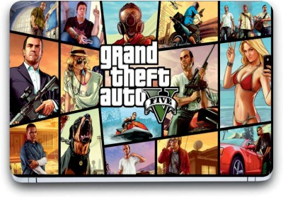Gallery 83 ® grand theft auto vice city game Exclusive High Quality Laptop Decal, laptop skin sticker 15.6 inch (15 x 10) Inch G83_skin_3947new Vinyl Laptop Decal 15.6