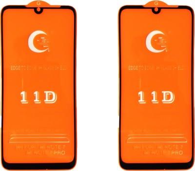 LORTZEA Tempered Glass Guard for Mi Redmi Note 7, Mi Redmi Note 7 Pro, Mi Redmi Note 7S(Pack of 2)