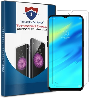 TOUGH SHIELD Tempered Glass Guard for Oppo F9, OPPO F9 Pro, Realme 2 Pro, Realme U1, Realme 3 Pro(Pack of 2)