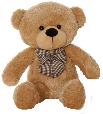 LOVE2SHOP 2 FEET LONG CUTE BEAUTIFUL TEDDY BEAR   60 cm Brown LOVE2SHOP Soft Toys