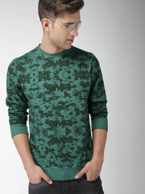 Mast & Harbour Full Sleeve Printed Men Sweatshirt at flipkart