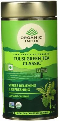 Organic India Classic Tulsi Green Tea Tin(100 g)