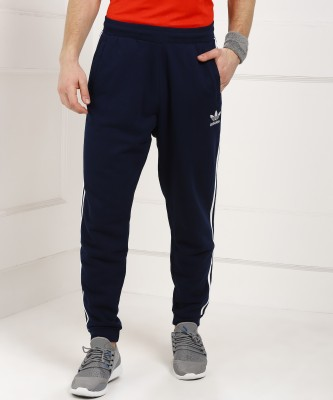 ADIDAS Solid Men Blue Track Pants at flipkart