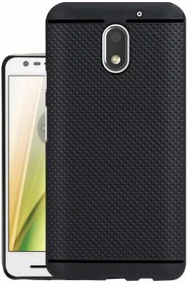 EASYBIZZ Back Cover for Motorola Moto E3 Power(Black)