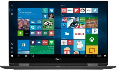 Dell XPS 15 Core i7 8th Gen - (16 GB/256 GB SSD/Windows 10 Home/4 GB Graphics) 9575-7354BLK-PUS 2 in 1 Laptop(15.6 inch, Black, 2.0 kg, With MS Office)