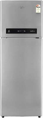 Whirlpool 360 L Frost Free Double Door 3 Star Refrigerator(Magnum Steel, INTELLIFRESH INV 375 ELT 3S) at flipkart