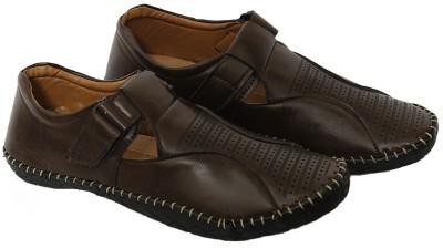 spade club Men brown Sandals