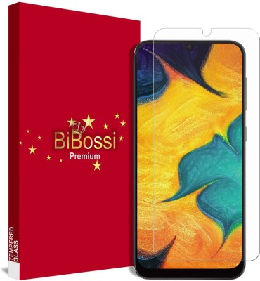 Bibossi Tempered Glass Guard for Samsung Galaxy A30, Samsung Galaxy A50, Samsung Galaxy M30, Samsung Galaxy M20(Pack of 1)