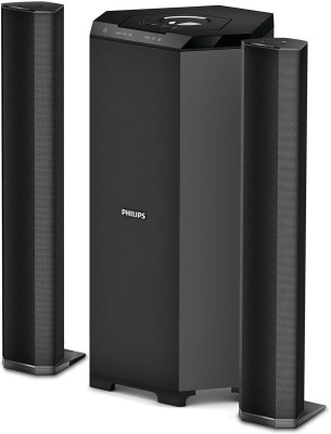 Philips MMS8085B/94 Convertible 80 W Bluetooth Home Theatre(Black, 2.1 Channel)