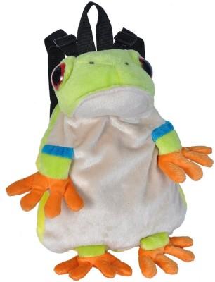 WILD REPUBLIC Ret Frog Backpack Plush School Bag Multicolor, 12 inch WILD REPUBLIC School Bags