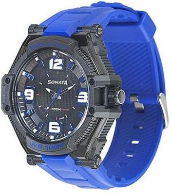 SONATA NH77029PP03 Superfibre Analog Watch   For Men   Women SONATA Wrist Watches