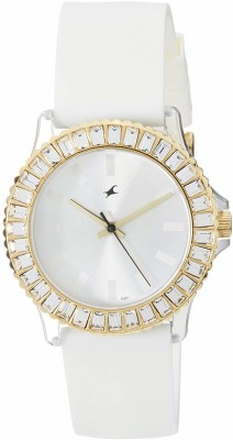 Fastrack NF9827PP01J Analog Watch   For Women Fastrack Wrist Watches