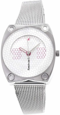 Fastrack NG6026SM01C Hip Hop Analog Watch   For Women Fastrack Wrist Watches
