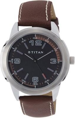 Titan NF1585SL03 Octane Analog Watch   For Men Titan Wrist Watches