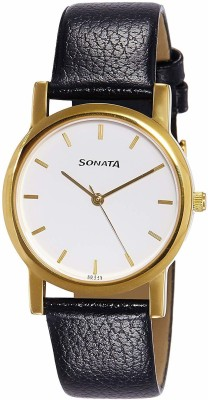 Sonata Nf7987YL02CJ Analog Watch  - For Men