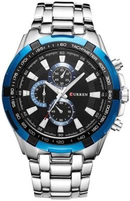 Curren Metallic Analog Watch   For Men Curren Wrist Watches