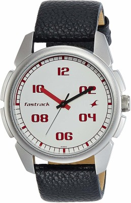 Fastrack NG3124SL01C Bare Basics Analog Men's Watch (NG3124SL01C)