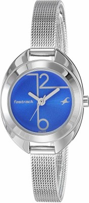 Fastrack 6125SM01 Analog Blue Dial Women's Watch (6125SM01)