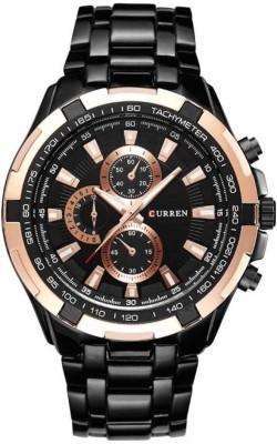 Curren WR555 Metallic Analog Watch  - For Men at flipkart