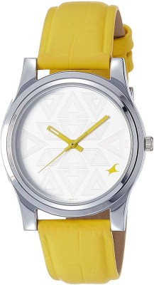 Fastrack 6046SL03C Analog Silver Dial Women's Watch (6046SL03C)